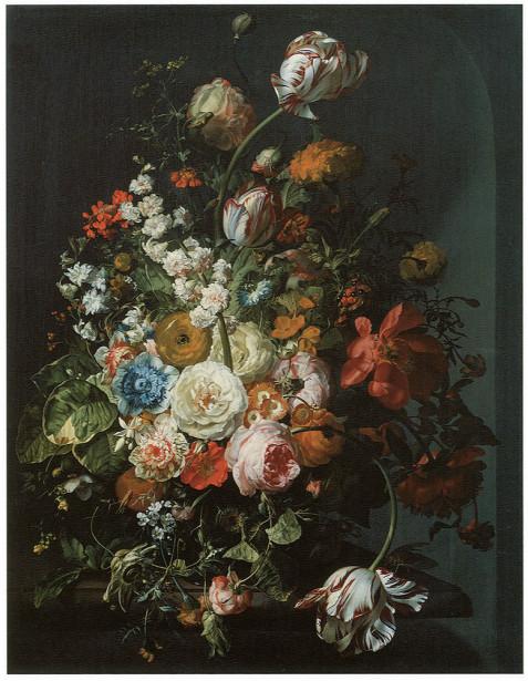 цветы, бабочки Рэйчел Рюйша (pf-100)