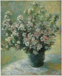Клод Моне ваза с цветами (pf-83)