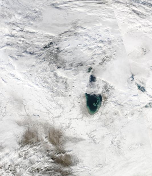 Фотообои 3д поверхность земли зимой (terra-00014)