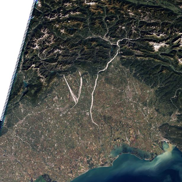 Фотообои 3д вид земли с верху (terra-00030)