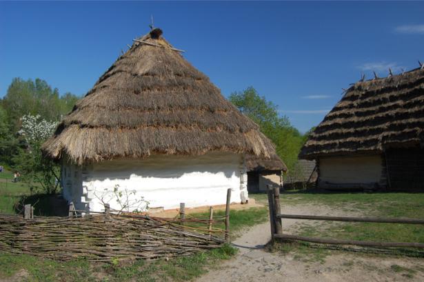 Фотообои украинская хата (ukraine-0261)