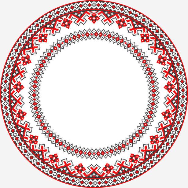 Скатерть Ромбический орнамент 2 (0079)