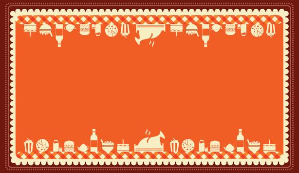 Скатерть еда на столе (0118)