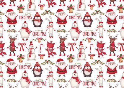 Скатерть Merry Christmas-2 (0193)