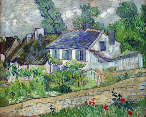 Ван Гог пейзаж (art-0000197)