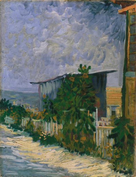 Ван Гог пейзаж (art-0000221)
