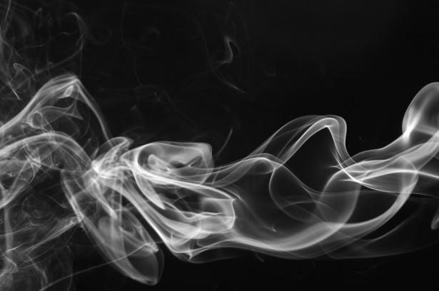Фотообои дым на черном фоне (background-383)