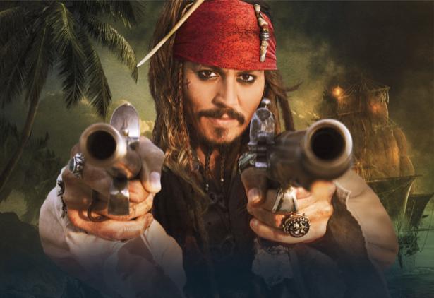 Детские фотообои Пираты Карибского (children-0000088)
