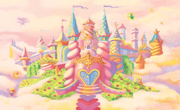 Фотообои замок принцессы (children-0000393)
