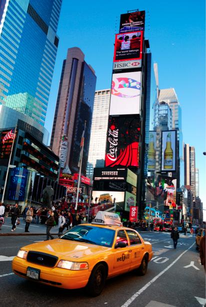 Фотообои Америка Нью-Йорк такси (city-0000556)