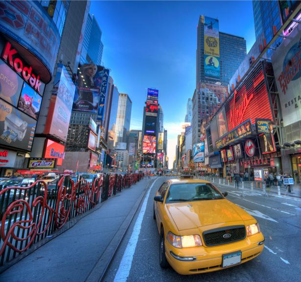 Фотообои Америка такси Нью-Йорк (city-0000602)