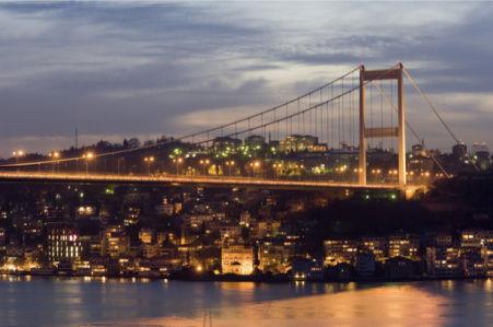 Фотообои Турция вид на Стамбул (city-0000812)