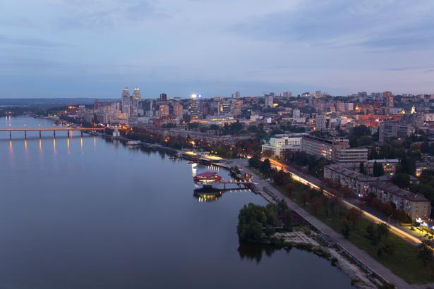 Фотообои Днепропетровск городской пейзаж (city-0000934)