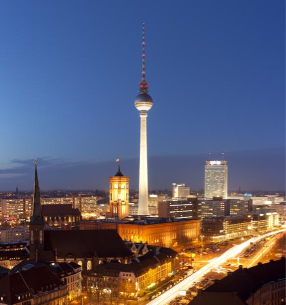 Фотообои Берлин Александреплац (city-0000996)