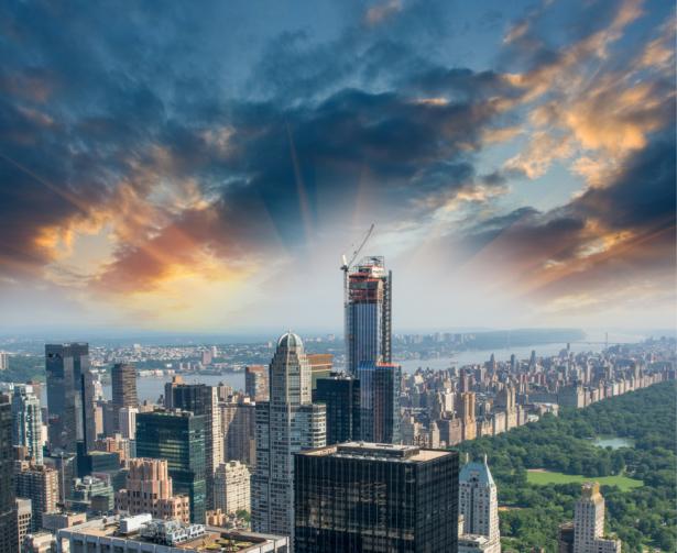 Фотообои Манхэттен Центральный парк в Нью-Йорке (city-0001295)