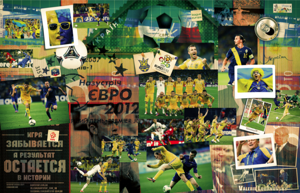 Фотообои для кафе футбол фансектор (commercial-00005)