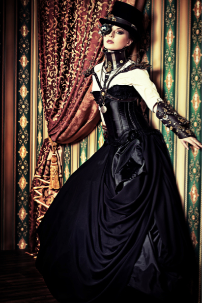 Фотообои стимпанк портрет студийный (glamour-0000210)