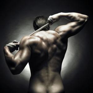 Фотообои мужское тело (glamour-0000249)