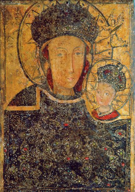 икона Богоматерь - Полуботка (icon-00047)