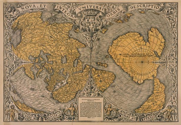 география, карты, старая карта (map-0000049)