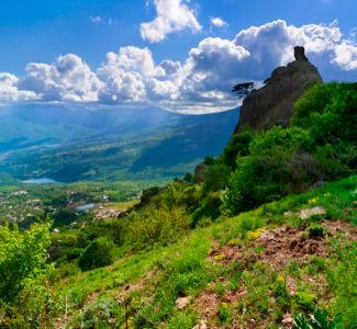 Фотообои с природой горный пейзаж (nature-00126)