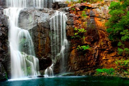 Фотообои с природой горный водопад красивый (nature-00188)