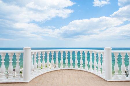 Фотообои вид на море с балкона (prg-146)