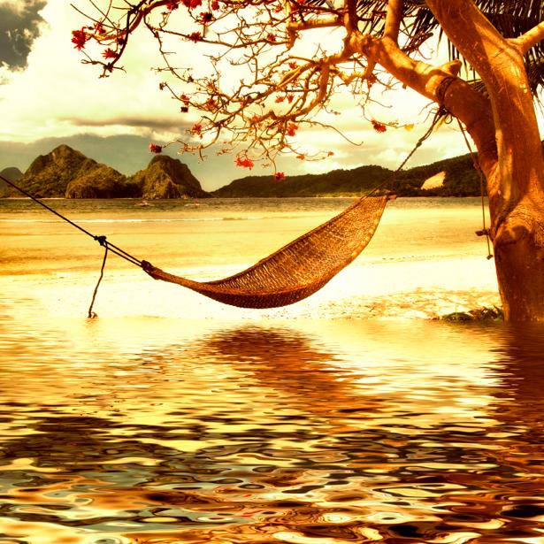 Фотообои дерево природа и озеро (retro-vintage-0000107)