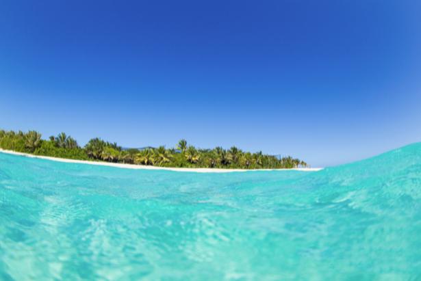 Фотообои море берег голубое небо (sea-0000302)