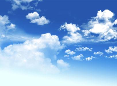 Фотообои от голубого до синего неба (sky-0000116)
