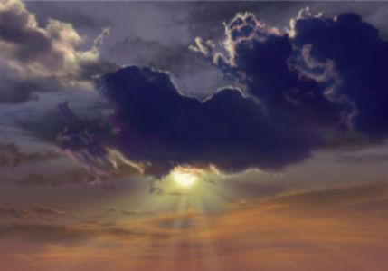 Фотообои вечернее небо (sky-0000126)