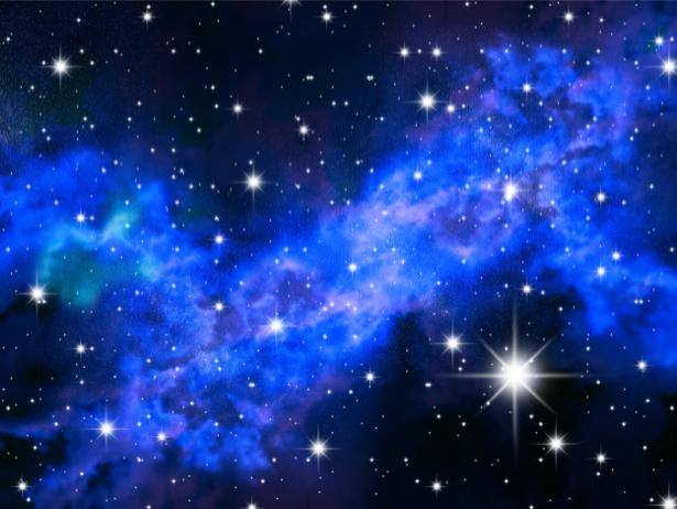 Фотообои звезды и созвездия (space-0000063)