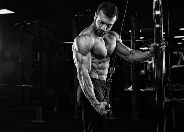 Фотообои Мужские мышцы (sport-183)
