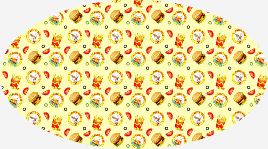 Скатерть Fast food (0109)