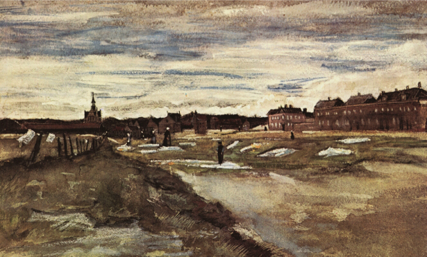Ван Гог пейзаж (art-0000167)