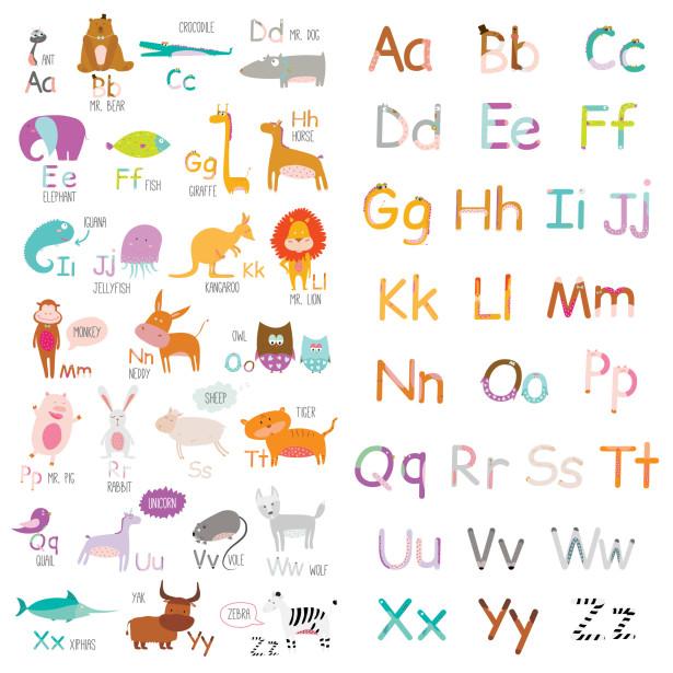 Фотообои азбука (child-429)