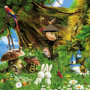 Детские фотообои животные в сказке (children-0000001)