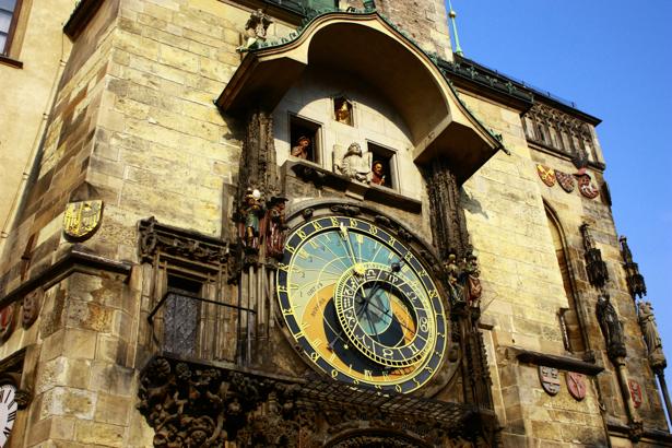 Фотообои Пражские часы (city-0000528)