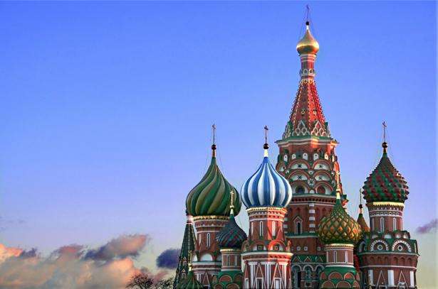 Фотообои Храм Василия Блаженного (city-0000758)