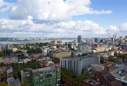 Фотообои Днепропетровск городская архитектура (city-0000962)