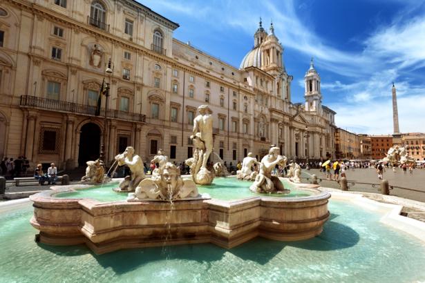 Фотообои площадь Piazza Navona (city-0001007)