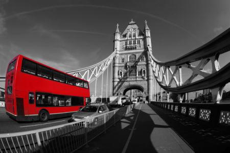Лондон Тауэрский мост - Фотообои (city-0001237)