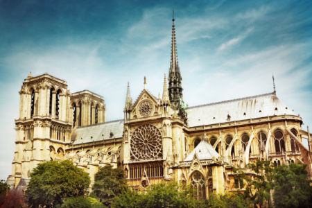 Фотообои Собор Парижской Богоматери (city-0001323)