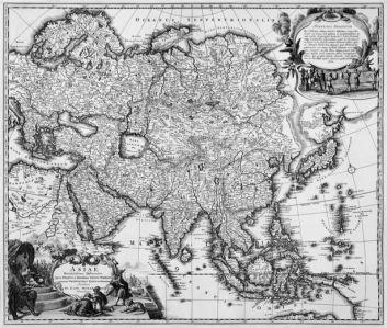 атлас, география, карты, старая карта (map-0000101)