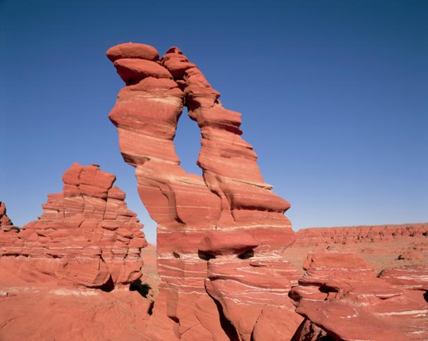 Фотообои красные горы мотив (nature-00355)