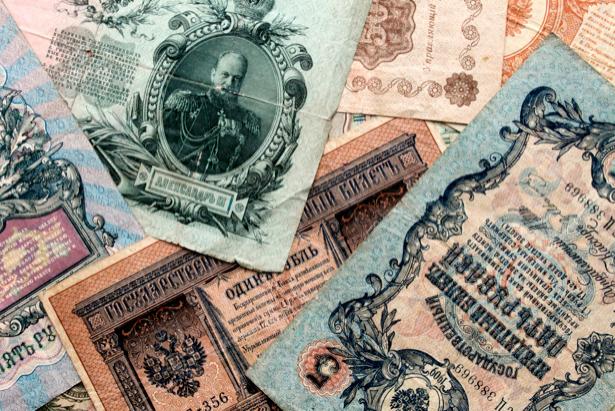 Фотообои деньги старые (retro-vintage-0000088)