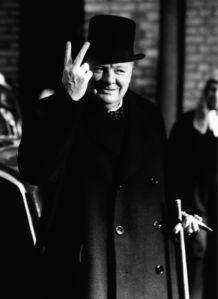 Фотообои Черчилль министр Англии (retro-vintage-0000357)