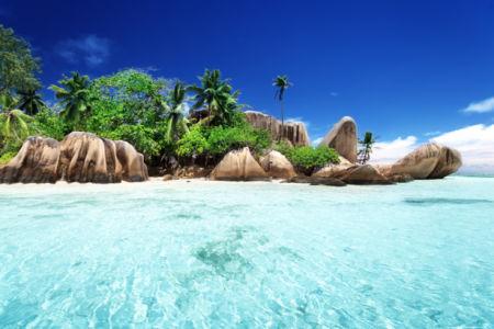 Фотообои море берег остров экзотика (sea-0000276)