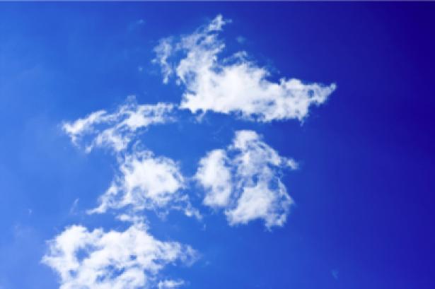 Фотообои синева неба и облака (sky-0000059)