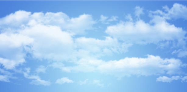 Фотообои небо с облаками днём (sky-0000070)
